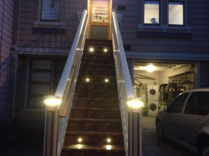 July 2015 - Stairs at night 2